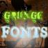 15 Grunge Font (Gratis)