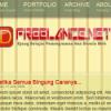 Download : Contoh Desain Theme IDFreelance.net