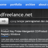 Download : PSD - Freelance Hitam Theme..